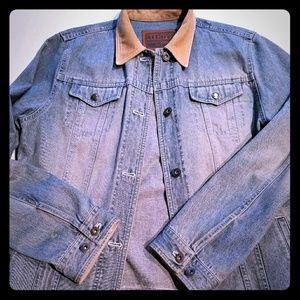 Ralph Lauren Denim Jacket with Corduroy Collar